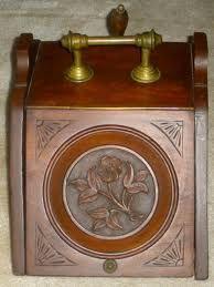 Antique english coal scuttle