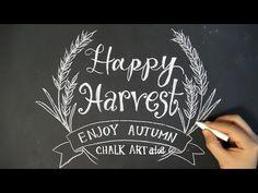 大人黒板!chalk letteringでチョークアート