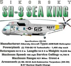 WARBIRDSHIRTS.COM presents Helicopters, available on Polos, Caps, T-shirts, Sweatshirts and more. featuring here in our Helicopters collection the SH-3 Sea King