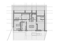 Casa com vistas à montanha,Basament Floor Plan