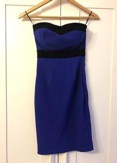 Kup mój przedmiot na #vintedpl http://www.vinted.pl/damska-odziez/sukienki-wieczorowe/15920255-granatowa-sukienka-dopasowana-tally-weijl-xs-34