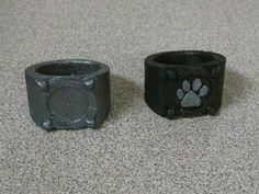 printed Cat Noir's Ring (Miraculous Ladybug) by PiggyJJ Bear Bows, Diy Rings, Healthy Chocolate, Miraculous Ladybug, 3d Printer, Diy And Crafts, Rings For Men, Cats, Chocolate Cookies