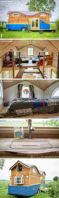 The Pequod tiny house, a 208 sq ft home