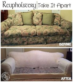 Broyhill Sofa Reupholstery Take It Apart