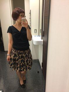 My fav leopard print skirt