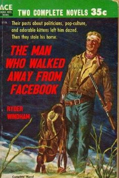 Obviously fiction, right? (altho' I've been avoiding FB myself of late ~mgh)