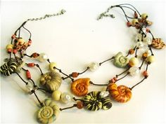 Sea-shells - anklet - for the girls