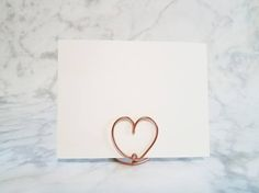 Wire escort card holder wire table number holder name card wire escort card holder wire table number holder name card holder place card greentooth Gallery