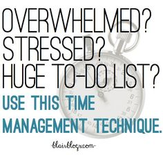 Work With Time & Get More Done With The Pomodoro Technique -- this technique has changed my life! seriously, if you're overworked and overwhelmed, you have to try it!
