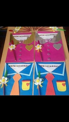 Kabeljau in Bärlauchkruste foodwerk. Kids Crafts, Doll Crafts, Craft Stick Crafts, Preschool Activities, Diy And Crafts, Arts And Crafts, Paper Crafts, Graduation Day, Fathers Day Crafts
