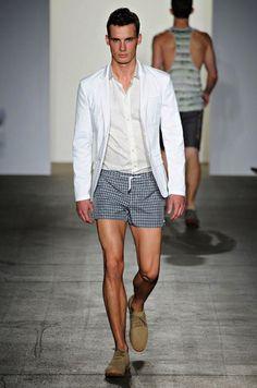 summer suit/ short shorts  Parke & Ronen Spring/Summer 2012