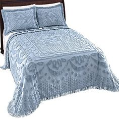 Need This!  Addison Chenille Fringe Border Bedspread Chenille Bedspread, Bed Spreads, Comforters, Home Goods, Blanket, Contemporary, Furniture, Home Decor, Creature Comforts