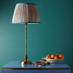Smaller Wrappling table lamp in antique brass Table Lamps Dining Lighting, Modern Lighting, Light Fittings, Light Fixtures, Pooky Lighting, Side Tables Bedroom, Brass Table Lamps, Bedroom Green, Master Bedroom