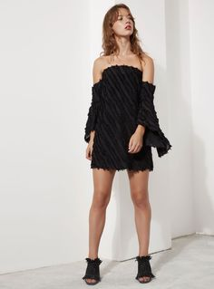 C/MEO Collective Recollection LS Dress – Black