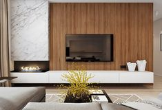 Best TV Wall Living Room Ideas Decor On A Budget – Page 47 of 60 – For the Home – fireplace Modern Tv Wall, Living Room Modern, Living Room Interior, Home Living Room, Small Living, Living Room Decor Fireplace, Home Fireplace, Fireplace Mantels, Living Room Tv Unit Designs