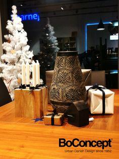 Christmas season in BoConcept Warsaw flagship store