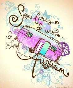 Sometimes I Wish I LIVED in an Airstream . . . MIRANDA LAMBERT exclusive JUNK GYPSY collection.