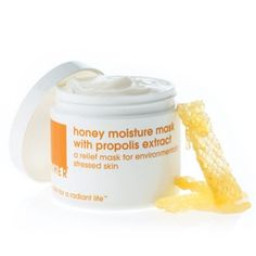 A super-hydrating mask to relieve stressed skin that has been over-exposed to environmental pollutants and nature's harsh elements. Specially blended with propolis extract, natural honey, nourishing minerals and vitamins, this mask revitalizes the skin's texture with deep-penetrating nutrients. Paraben-free.