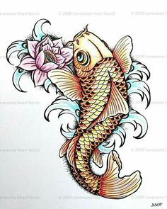 idea to touch up my Koi someday..
