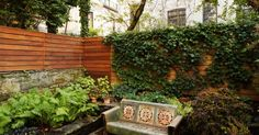 Enhance The Beauty Of Your Garden By Hiring Experienced Brownstone Garden Designer Services Garden Landscape Design, Garden Landscaping, Backyard, Patio, Green Stone, Nyc, Exterior, Outdoor Decor, Beauty