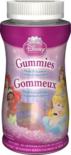 Disney Princess Multivitamin Gummies $21.99 - from Well.ca