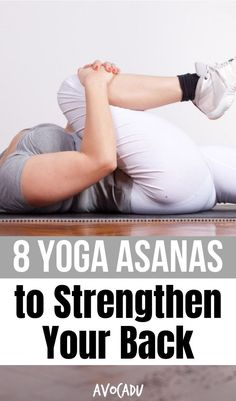 """By working on muscles in the back region, people who routinely perform yoga can reduce pain and grow stronger. If you've been battling back pain or just feeling a little too """"achey"""" lately, these yoga poses are for you! #yoga #yogaposes #growstronger"""