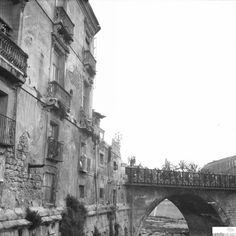 Puente viejo , río - Colección Juan Orenes - Región de Murcia Digital