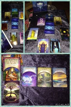 Earth Magic oracle cards, Silver witchcraft tarot