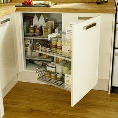 Corner Storage Unit | Kitchen Storage Solutions | Howdens Joinery