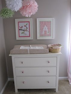Hemnes 3 Drawer Dresser As Changing Table