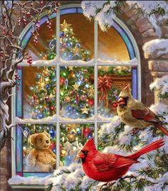 Let Christmas help us to bring Joy, Peace and love to everyone. Remember to feed the birds, they are God's creatures also and He made them so beautiful .