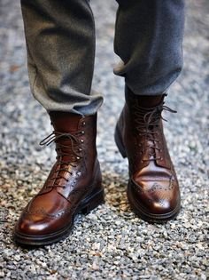 wingtip boots for the man...these are so wonderful I can hardly speak
