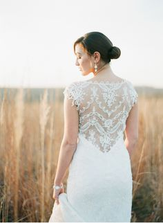 Megan Pomeroy Nebraska Wedding Photographer ....my beautiful friend and roomie in a dress almost as gorgeous as she is :)