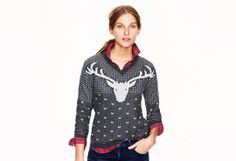 Fashion Find: Not Ugly Holiday Sweaters | @J.Crew