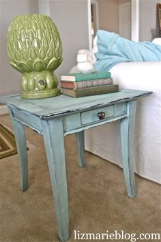 Mini Mint & Homemade Chalk Paint -