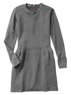 Lived-in sweatshirt dress Product Image