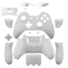 Full Shell White Case for Xbox One Wireless Controller