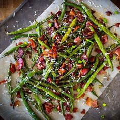 Easy green beans with bacon. Delicious side and perfect for holidays! Simply fry green beans in @omghee Ghee seasoned with sea salt and better. Top with @5280meat Smoked Bacon, @kerrygolddairy Swiss Cheese, and seasoned with @flavorgod Garlic Lovers seasoning.