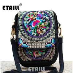 5c74386e1f3 Cheap bag air, Buy Quality bag cd directly from China bag manufacture  Suppliers  Women s Ethnic Embroidery bag Vintage Embroidered canvas cover  shoulder ...