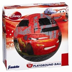 "Franklin Sports Disney Pixar Cars 5"" Rubber Playground Ball by Franklin Sports. $6.99"