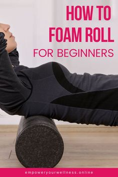 Roller Workout, Abc Workout, Workout Routines, Workout Ideas, Lower Back Pain Exercises, Knee Exercises, Foam Rolling, Quad Muscles, Foam Roller Exercises