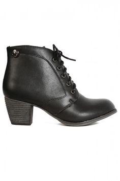 Break Line Ankle Boot
