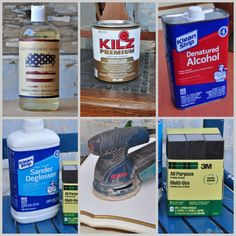WHAT you need to know about PREPPING  a piece of furniture  before painting  ~ Prepping products