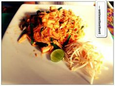 Recipe Pad Thai (fried noodles Thai style // thailändische Bratnudeln)