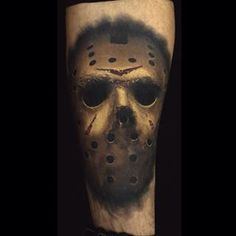 Healed shot of this Jason mask by Josh Grable @josh