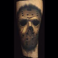 Healed shot of this Jason mask by Josh Grable @josh