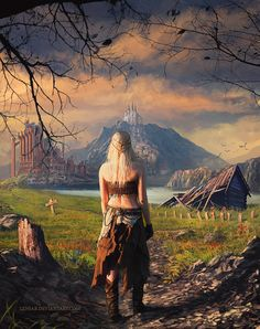 The Return: Amazing Daenerys Stormborn Cover Art... | Game of Thrones Fan Art