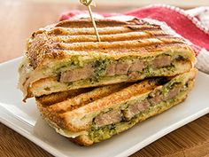 Italian Grilled Pork Panini: This panini is a great way to bring a little Italian flavor to your meal.