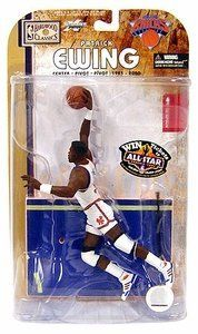 McFarlane Toys NBA Sports Picks Legends Series 4 Action Figure Patrick Ewing (New York Knicks) White Jersey by McFarlane Toys. $25.00. New York Knicks. Figures. Novelty. Basketball. Mcfarlane Patrick Ewing New York Knicks Action Figure