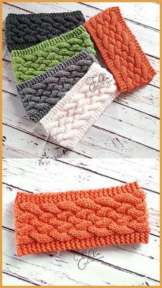 Woven Cable Headband - Free Pattern - Knitting for beginners,Knitting patterns,Knitting projects,Knitting cowl,Knitting blanket Loom Knitting, Knitting Patterns Free, Knit Patterns, Free Knitting, Baby Knitting, Free Crochet, Knit Crochet, Pattern Sewing, Knitting Needles